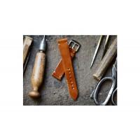 Pasek2 skórzany , wykonany ręcznie, szerokość paska 18mm